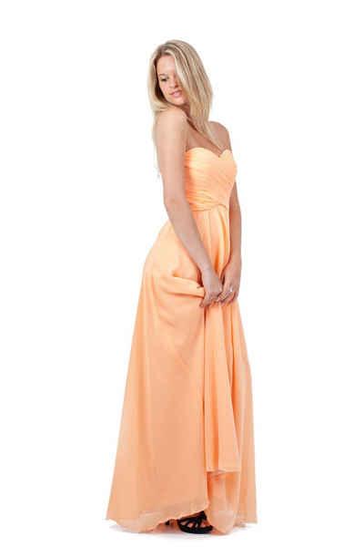 AvaMia Abendkleid »AvaMia-Kleid-3409« Festliches Chiffon Abendkleid, Chiffonkleid, langes Kleid