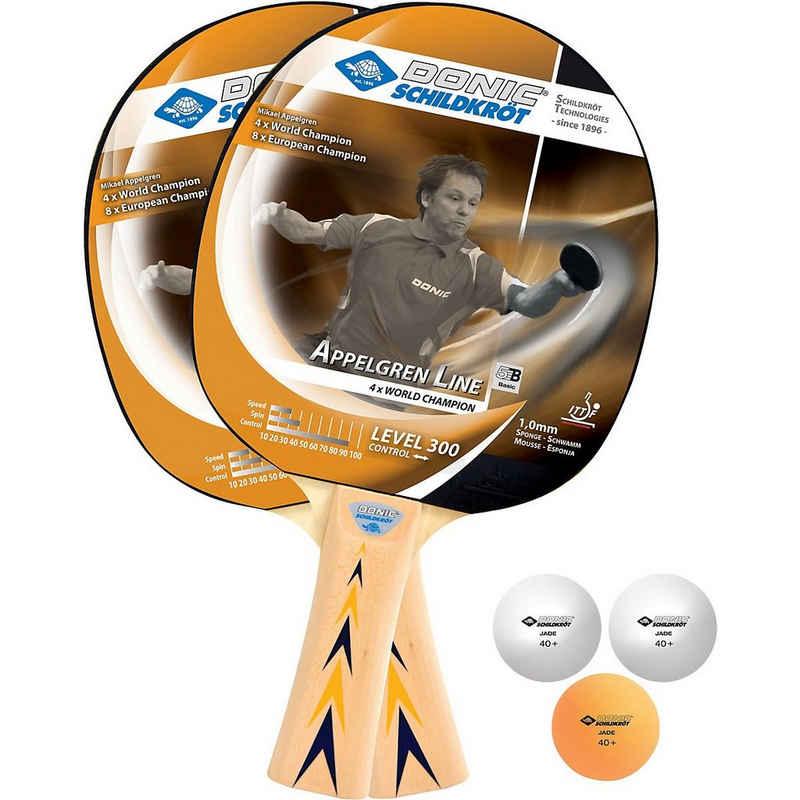 Donic-Schildkröt Tennisschläger »Donic-Schildkröt Level 300 Tischtennisset«