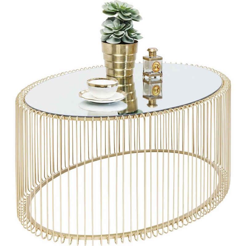 KARE Beistelltisch »Couchtisch Wire Uno Brass 60x90cm«