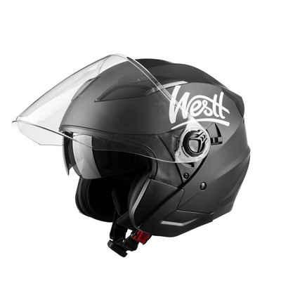 Westt Motorradhelm »Jet«