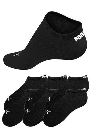 PUMA Sportliche Sneakersocken (6 Paar) in klassischer Form