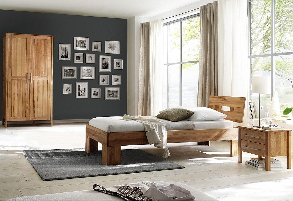 Home affaire, Schlafzimmer-Set (3-tlg.), »Modesty I« mit 2-türigem Schrank
