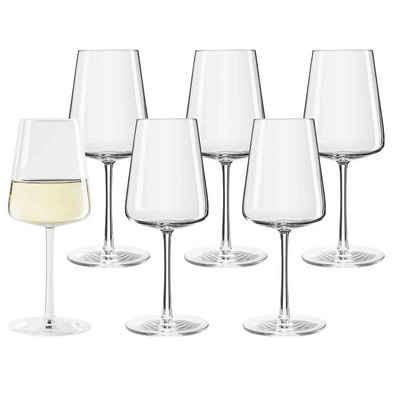 Stölzle Weißweinglas »POWER Weißweinglas 400 ml 6er Set«, Glas