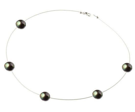 Gemshine Perlenkette »Schwebende Tahiti Zuchtperlen FLOAT«, Made in Germany