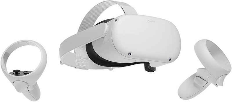 Oculus »Quest 2 128GB Generalüberholt Virtual Reality Brille Standalone und PC VR Headset weiß« Virtual-Reality-Brille