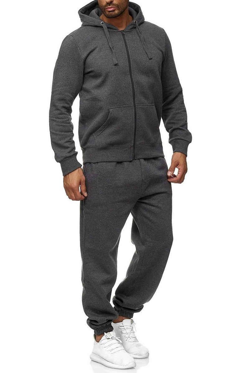 Egomaxx Trainingsanzug »2771«, EGOMAXX Basic Jogginganzug EGO Baggy Pants Hoodie Trainingsanzug