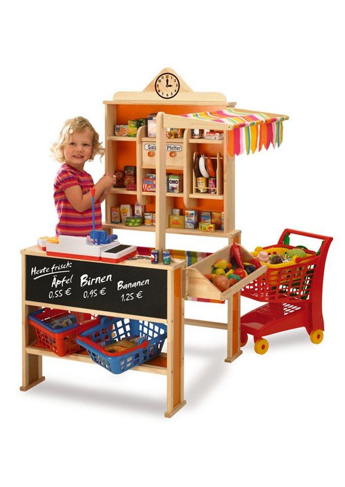kaufladen kaufen einkaufsladen f r kinder otto. Black Bedroom Furniture Sets. Home Design Ideas
