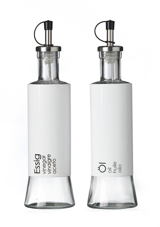 Essig- und Ölflasche, 2er Set, 320 ml, »Cantina«