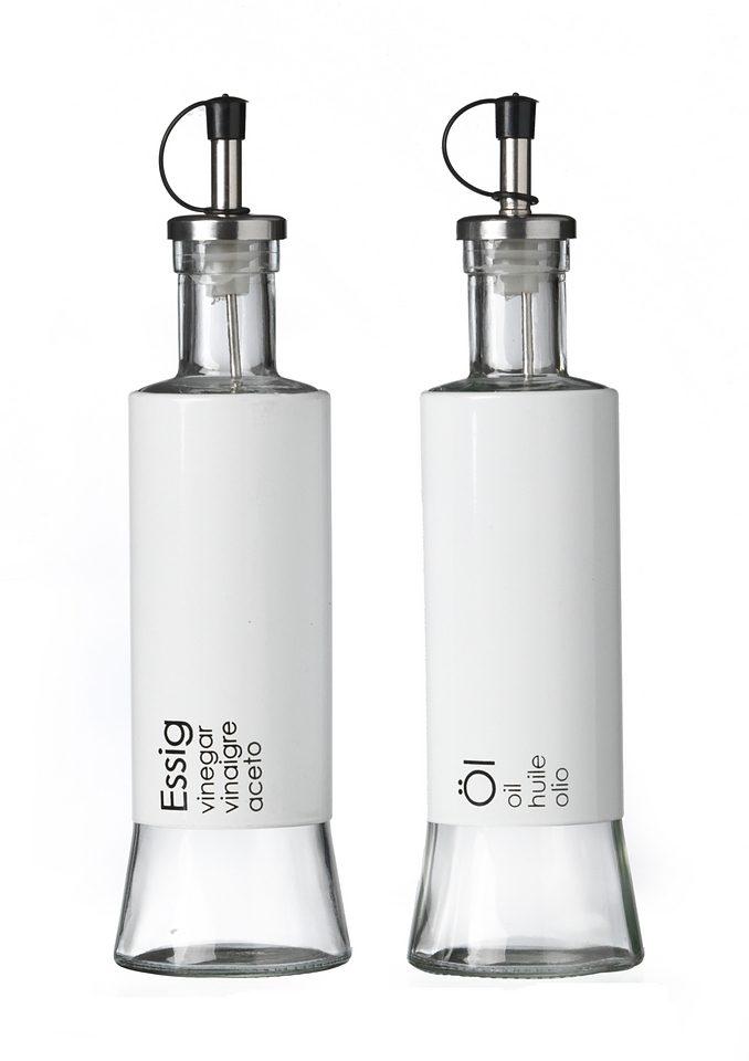 Ritzenhoff & Breker Essig- und Ölflasche, 2er Set, 320 ml, »Cantina«