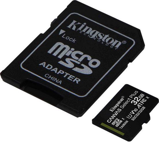 Kingston »Canvas Select Plus microSD« Speicherkarte (Lesegeschwindigkeit 100 MB/s)
