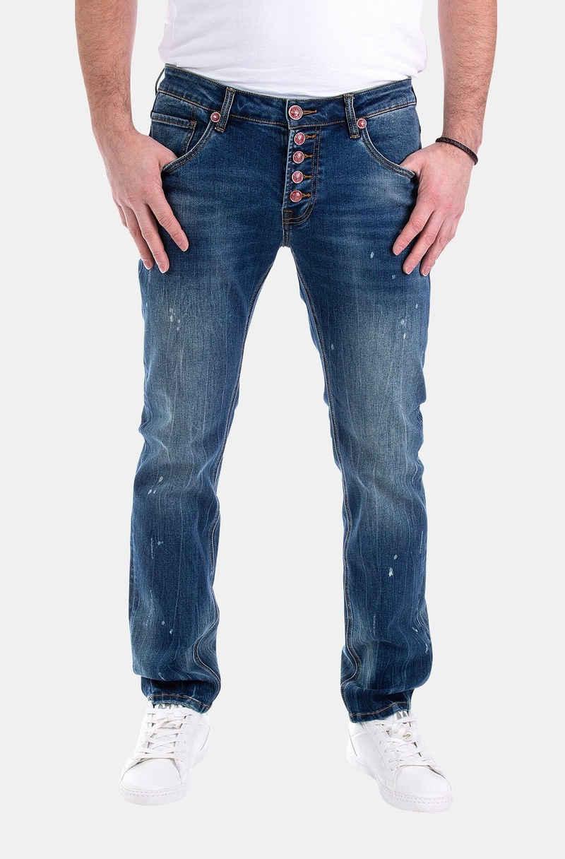 Blue Monkey Slim-fit-Jeans »Alex« (1-tlg)