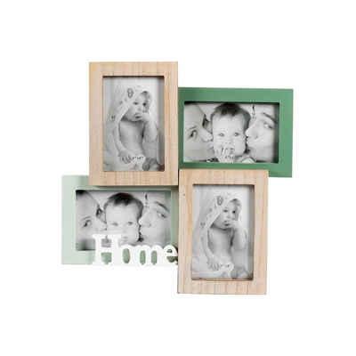 HTI-Living Galerierahmen »Bilderrahmen Holz für 4 Fotos Kaila Home«, Bilderrahmen