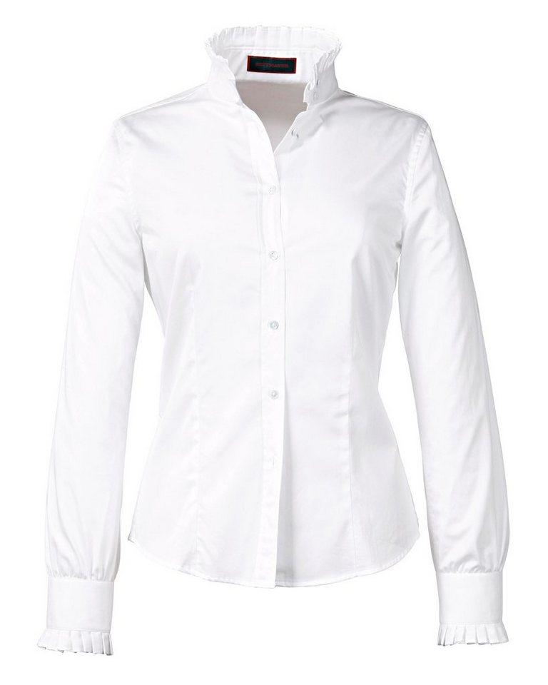 Reitmayer Bluse, weiß, Weiß