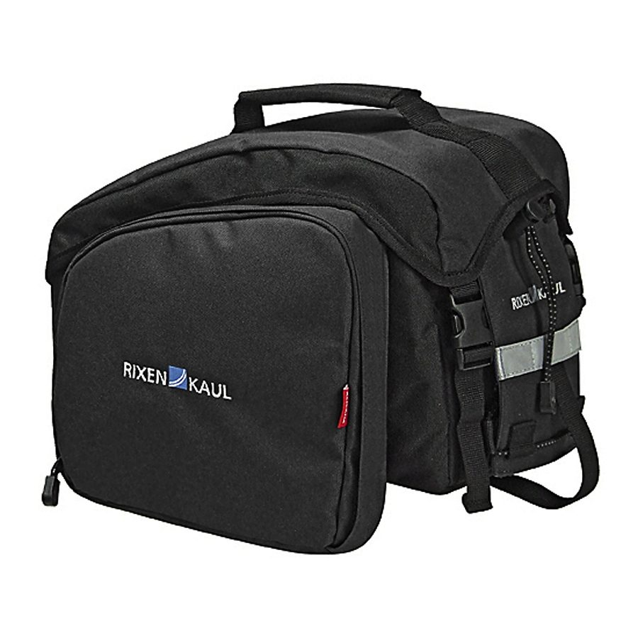 KlickFix Gepäckträgertasche »Rackpack 1 Plus Gepäckträgertasche schwarz«