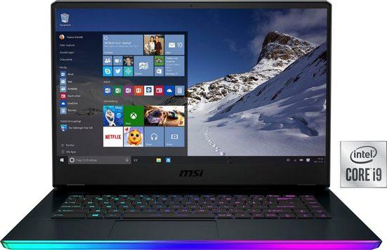 MSI GE66 Raider 10UH-260 Gaming-Notebook (39,6 cm/15,6 Zoll, Intel Core i9, GeForce RTX™ 3080, 2000 GB SSD, Kostenloses Upgrade auf Windows 11, sobald verfügbar)