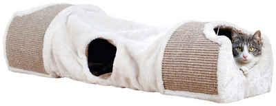 TRIXIE Tierbett »Kratztunnel«, LxBxH: 110x30x38 cm, hellgrauxbraun