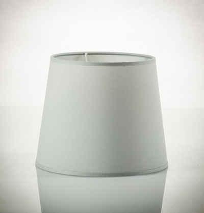 Licht-Erlebnisse Lampenschirm »WILLOW«, Stoff Lampenschirm groß für Hängelampe Pendelleuchte E27 Lampe
