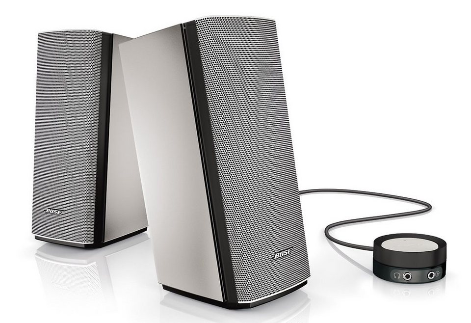 Bose® Companion® 20 Multimedia Speaker System in Silber