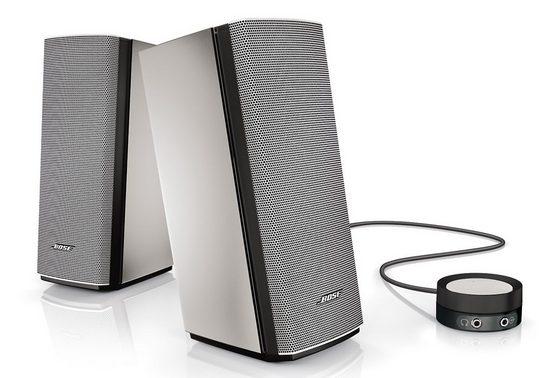 Bose Companion® 20 Lautsprechersystem (Doppelter Audio-Eingang am Control Pod, Single-Touch-Stummschaltung)