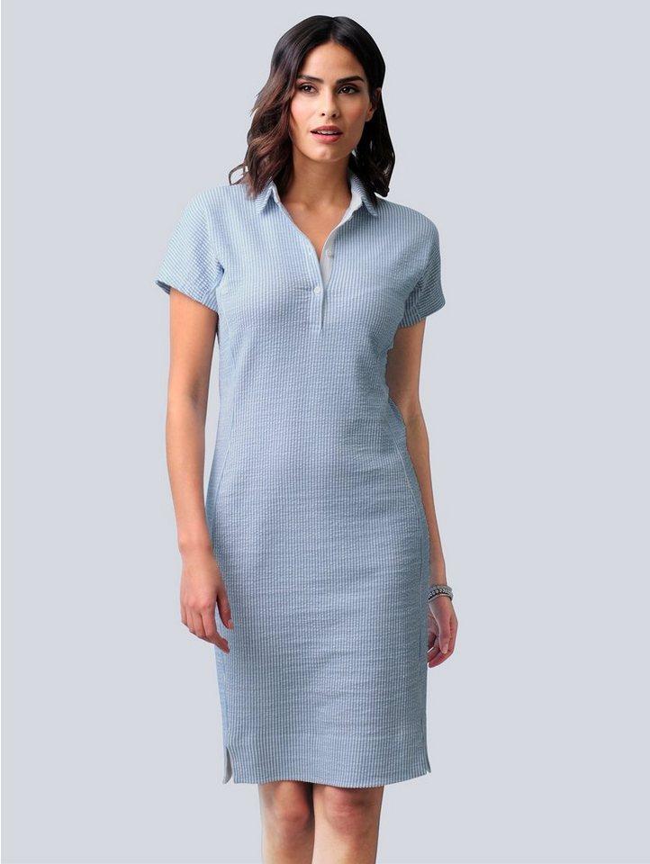 alba moda -  Jerseykleid in sportiver Seersucker-Qualität