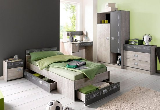 Parisot Jugendzimmer-Set »Fabric«, (Set, 4-St)