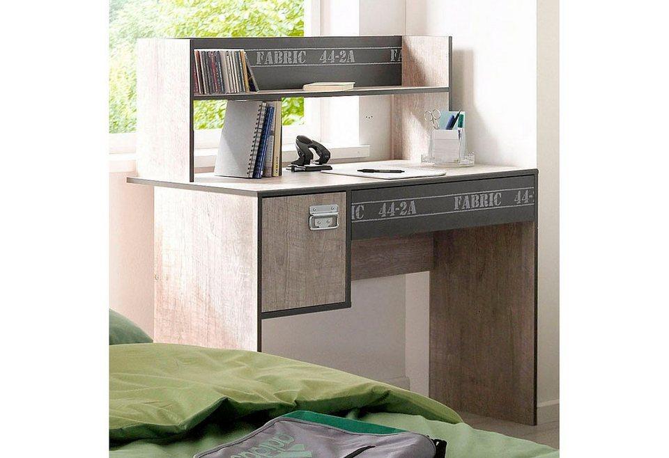 Parisot Schreibtisch »Fabric« in eschefarben-grau