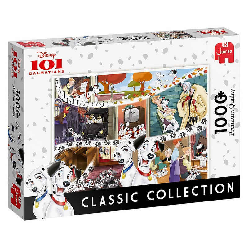 Jumbo Puzzle »Disney Classic Collection 101 Dalmatiner- 1000«, Puzzleteile