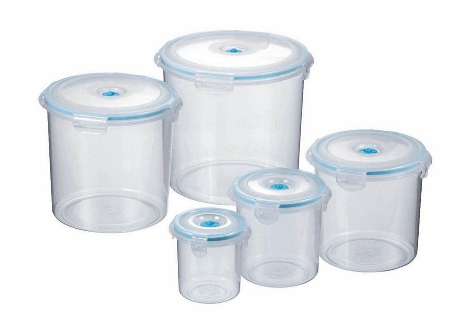 SET: Vakuum Vorratsdosen (6tlg.) in blau