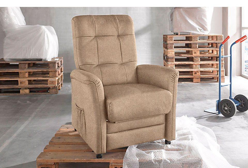 Novasit TV-Sessel, wahlweise mit Motor in creme