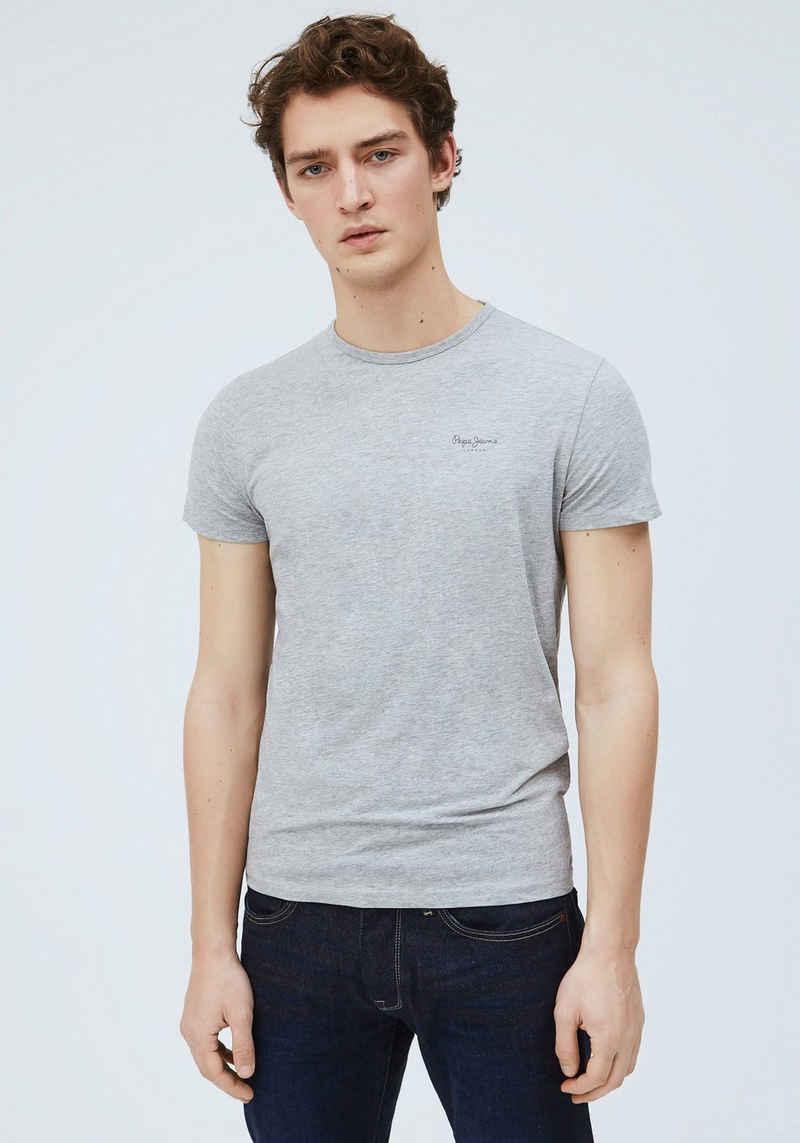 Pepe Jeans Rundhalsshirt »ORIGINAL BASIC«
