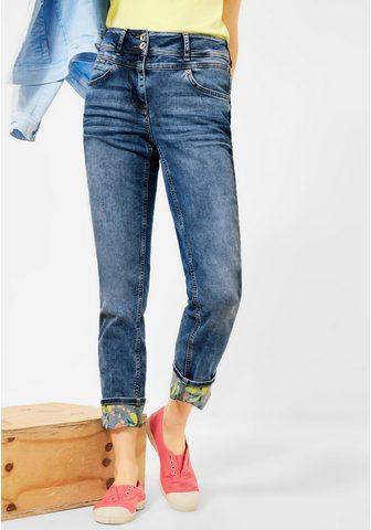Cecil 7/8 ilgio džinsai 4-Pocket Style
