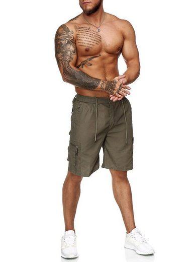 OneRedox Shorts »Bermuda200C1X« (Kurze Hose Bermudas Sweatpants, 1-tlg., im modischem Design) Fitness Freizeit Casual