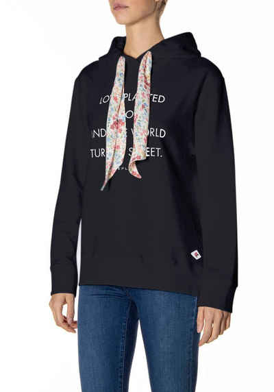 Replay Sweatshirt mit Kapuze und Logoprint