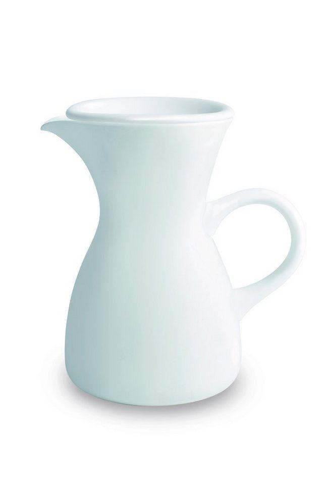 Kahla Kaffeekaraffe mit Deckel »Café Sommelier« in Weiß