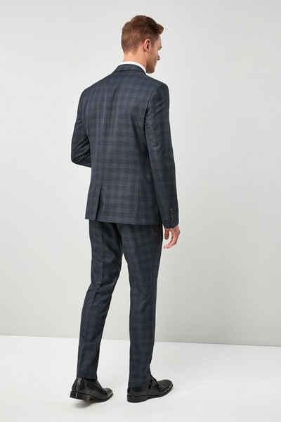 Next Anzugsakko »Karierter Anzug im Slim Fit: Sakko«