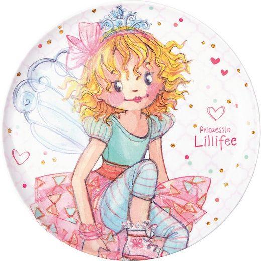 Spiegelburg Teller »Prinzessin Lillifee: Melamin-Teller zauberhafte«