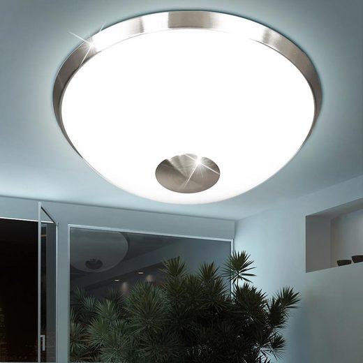 WOFI Deckenstrahler, 16 Watt LED Decken Leuchte rund Wohnraum Strahler Lampe weiß WOFI 9030.01.64.0400