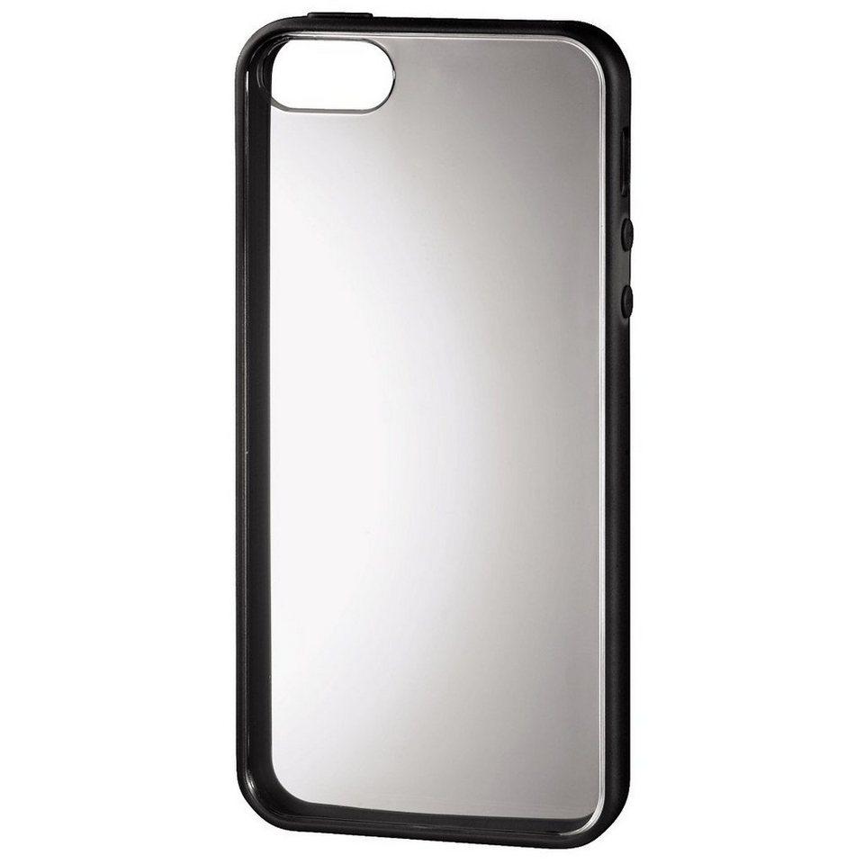 Hama Cover Frame für Apple iPhone 5/5s/SE, Schwarz in Schwarz