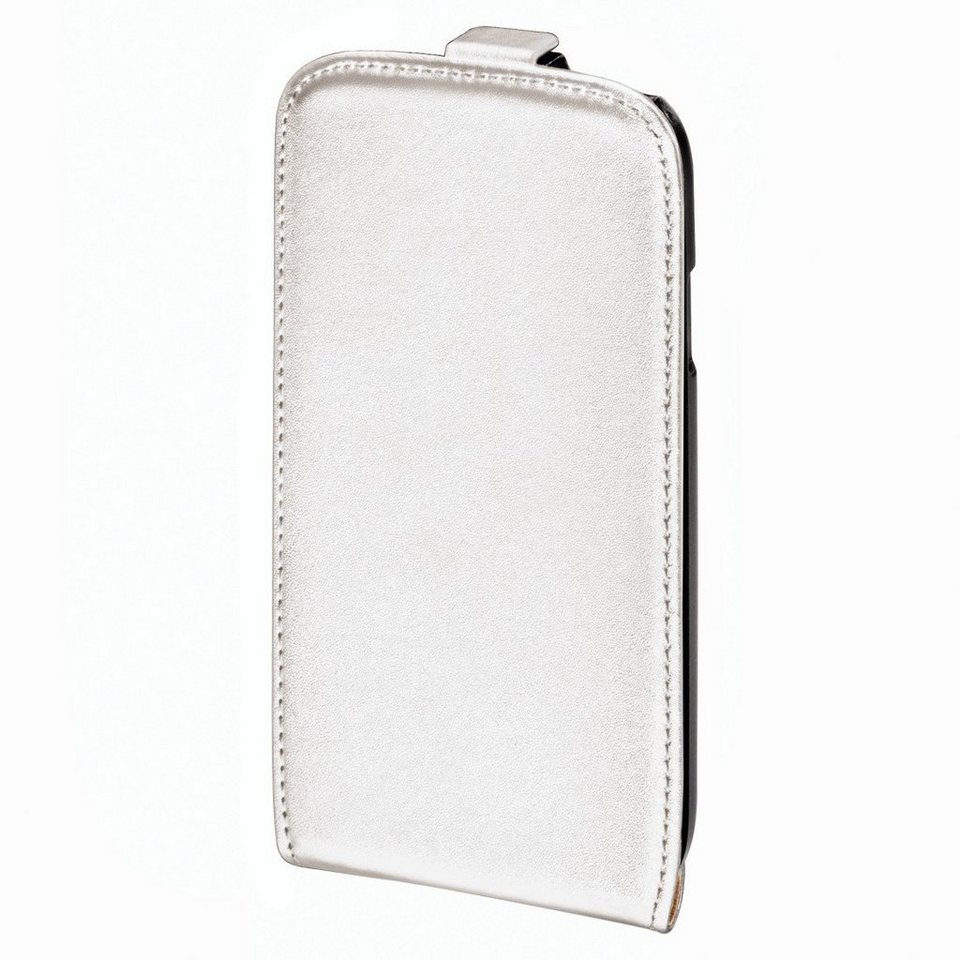 Hama Flap-Tasche Smart Case für Apple iPhone 5/5s/SE, Weiß in Weiß