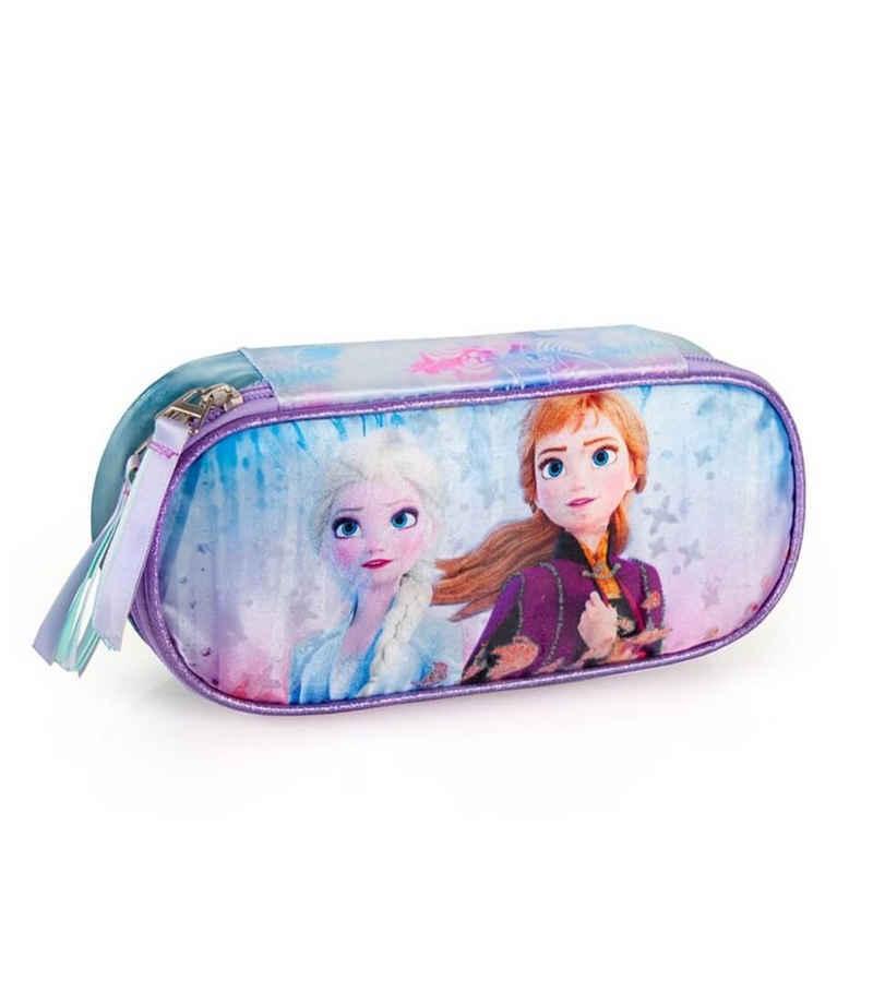 Disney Frozen Federmäppchen »Disney´s Die Eiskönigin 2 - Federmappe, ungefüllt«, (1-tlg., Mädchen), Reißverschluss
