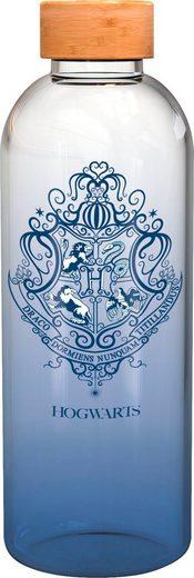 Trinkflasche »Harry Potter Glasflasche Hogwarts Wappen (1030 ml)«