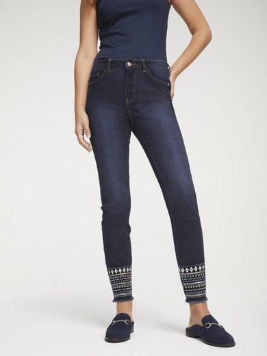 LINEA TESINI by Heine Skinny-fit-Jeans mit Push-up Effekt