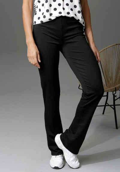 Aniston CASUAL Leggings bedruckt oder uni - Du hast die Wahl
