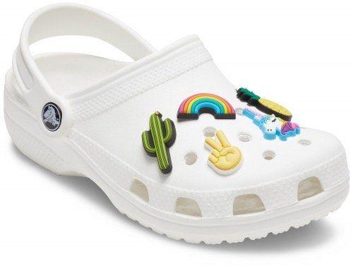 Crocs Schuhanstecker »Jibbitz™ Fun Trend« (Set, 5-tlg), mit coolen Motiven