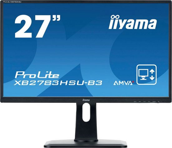"""Iiyama XB2783HSU-B3 LED-Monitor (68,6 cm/27 """", 1920 x 1080 Pixel, Full HD, 4 ms Reaktionszeit, 75 Hz, LED)"""