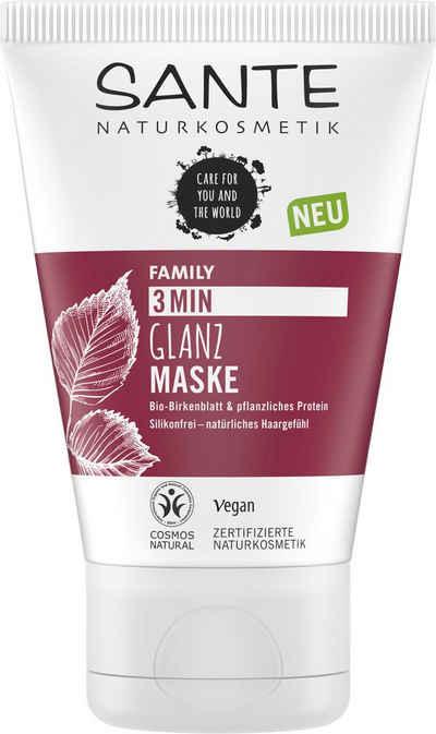 SANTE Haarmaske »FAMILY 3 Min Glanz Maske«