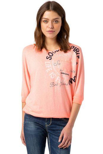SOCCX Sweater mit Print