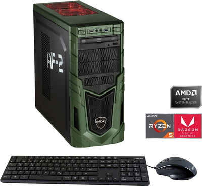 Hyrican Multimedia PC 6435 Gaming-PC (AMD Ryzen 5 3400, Radeon RX Vega 11, 8 GB RAM, 480 GB SSD)