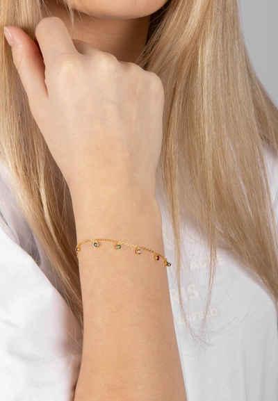 Joanli Nor Armband »Armband GIANOR mit farbigen Zirkonia«