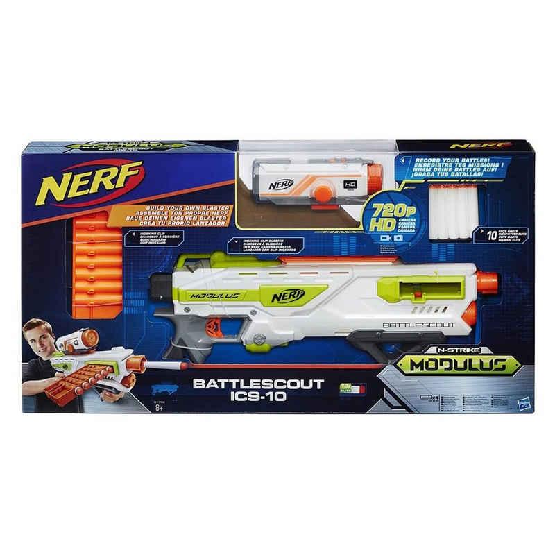 Hasbro Blaster »Hasbro B1756EU60 - Nerf - N-Strike Elite - Modulus, Battlescout ICS- 10«